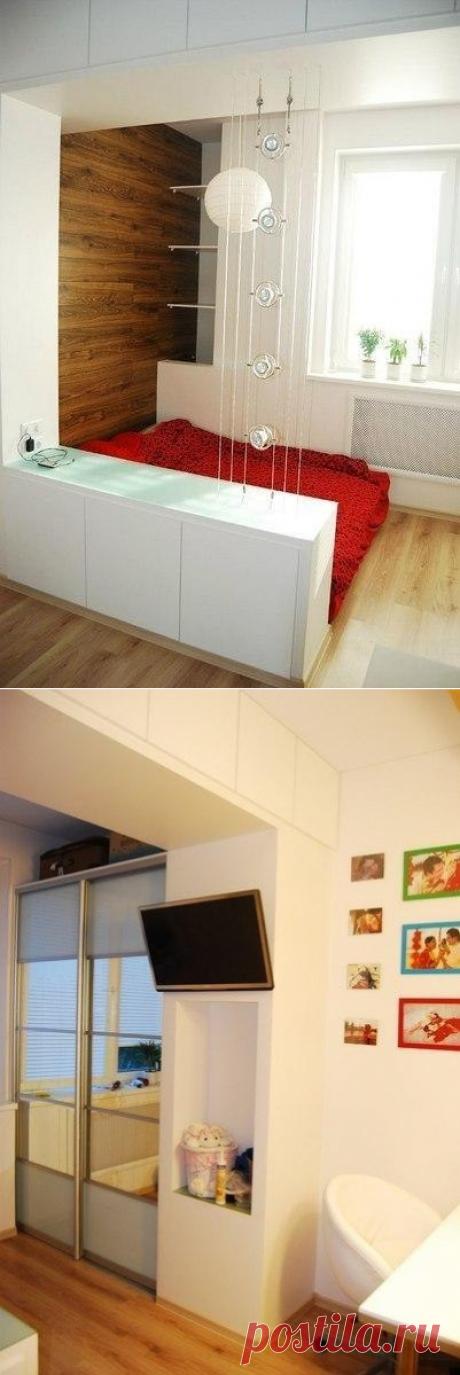 Маленькая квартира-студия в примерно 32 кв.м. - Дизайн интерьеров   Идеи вашего дома   Lodgers