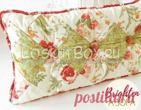 Декоративные подушки пэчворк своими руками