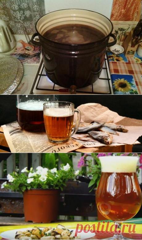 Как сварить дома пиво в обычной кастрюле: рецепт на 23 литра