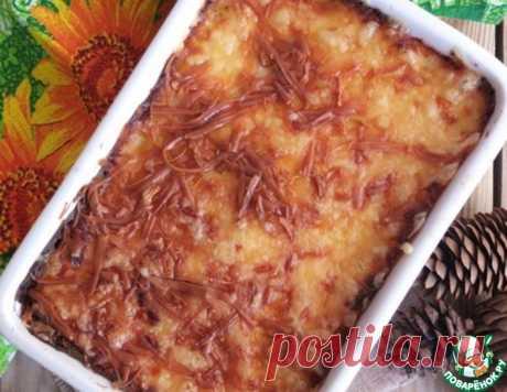 """Картофельная запеканка с соусом """"Бешамель"""" – кулинарный рецепт"""