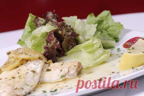 Сибас по-римски. Итальянские рецепты шеф-повара Винченцо Барба | Drink&Food Inform