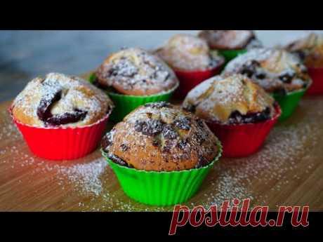 Пышные КЕКСЫ на МОЛОКЕ за 5 мин.   Vanilla Muffins   Кулинарим с Таней