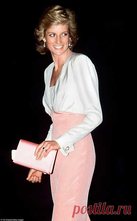 How Diana invented modern red carpet glamour | Daily Mail Online