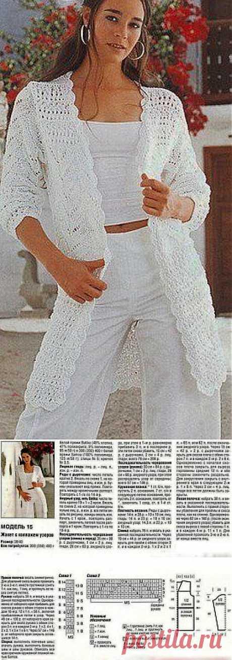 Вязание: стильного кардигана.