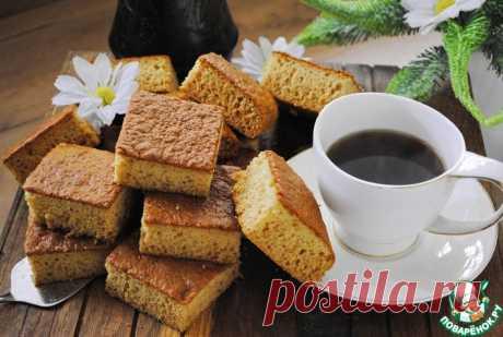 Медовая коврижка к чаю Кулинарный рецепт