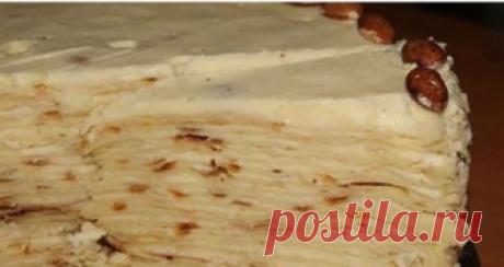 Торт «Наполеон» на сковороде. Очень простой и вкусный Легкий и простой рецепт торта «Наполеон», для выпечки которого вам не потребуется духовка.