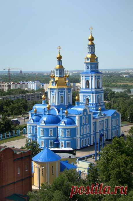 спасо-вознесенский кафедральный собор . Ульяновск.