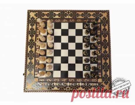 """Купить  шахматный игровой набор 3 в 1 """"Chess Club"""""""