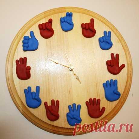 Часы / Декор стен / ВТОРАЯ УЛИЦА - Выкройки, мода и современное рукоделие и DIY