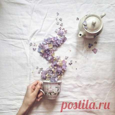 Заваривайте чай только с правильной заваркой: с счастьем, удачей, приключениями... и хорошим настроением!)