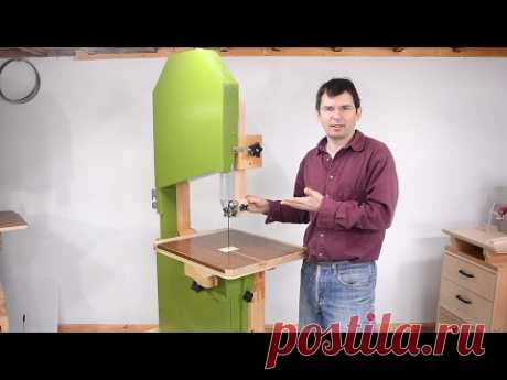 """Building the woodgears.ca 20"""" bandsaw"""