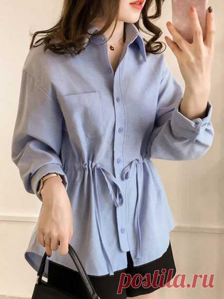 Как приталить оверсайз блузу (+1 diy)