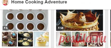 Home Cooking Adventure в Pinterest