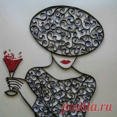 «Quilling Женские образы декупажные картинки Quilling, Quilling craft, Quilled paper art» — карточка пользователя LiV P. в Яндекс.Коллекциях