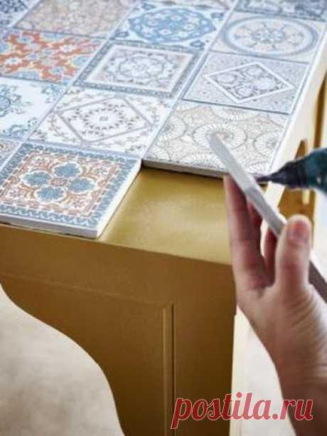 (104) New life of an old table-top. #diy #своимируками of #мастеркласс #handmade - Furnish Home - + | make Google