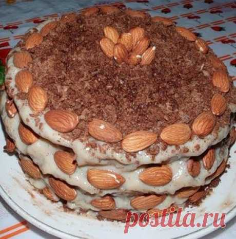 Печем торты в микроволновке.