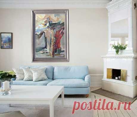 """""""Крещение Христа Иоанном Крестителем"""" Картина выполнена на заказ. Холст, масло размер: 140х90см. Возможен повтор. Цена 1500$"""