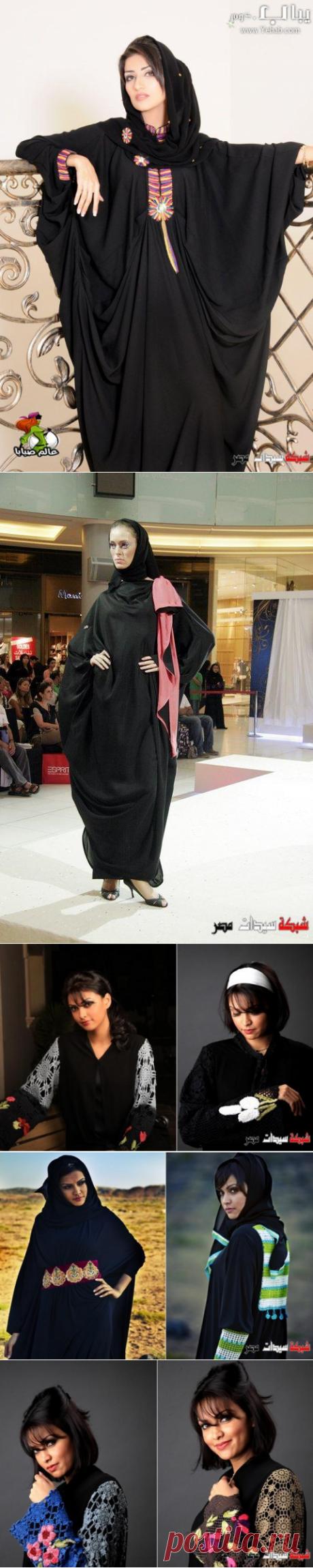 عبايات سوداء - عبايات مودرن - عبايات خليجية سوداء - Modern Abaya 2020