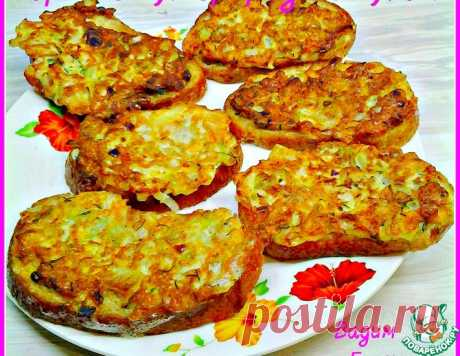 Горячие бутерброды с луком – кулинарный рецепт