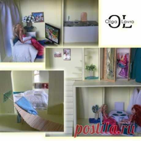 Делаем кукольный домик для детей — Сделай сам