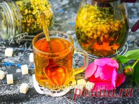 Цветочный чай (ромашка, акация, мята). Цветочный чай из ромашки, акации и мяты - это не только вкусный напиток, но еще и очень полезный!