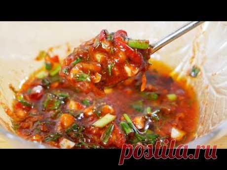 Универсальный СОУС для всех блюд, цыганка готовит. Быстрая аджика. Gipsy cuisine.