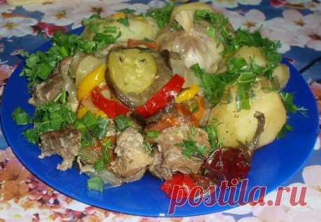 Басма – вкусное блюдо узбекской кухни.