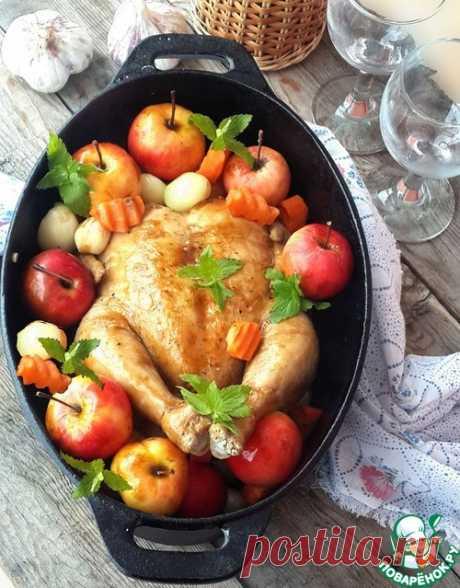 Вкуснейшая курица для семейного торжества - кулинарный рецепт