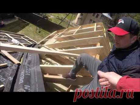 Как сделать крышу из керамической черепицы. Часть1.