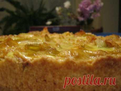 Цветаевский яблочный пирог. Рецепт приготовления