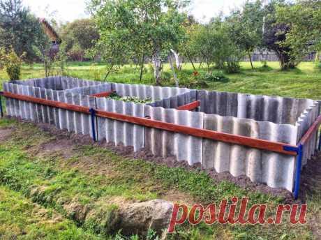 Старый шифер на огороде: способы использования Старый шифер на огороде: преимущества использования данного материала. Благоустройство, теплоизоляция грядок. Возможный вред.