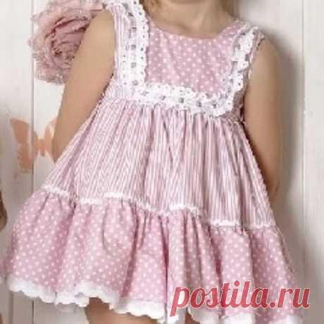 Выкройка детского платья -сарафан.  Размеры выкройки с 1 до 14 лет . Выкройка Марлин Мукай @marlenemukai
