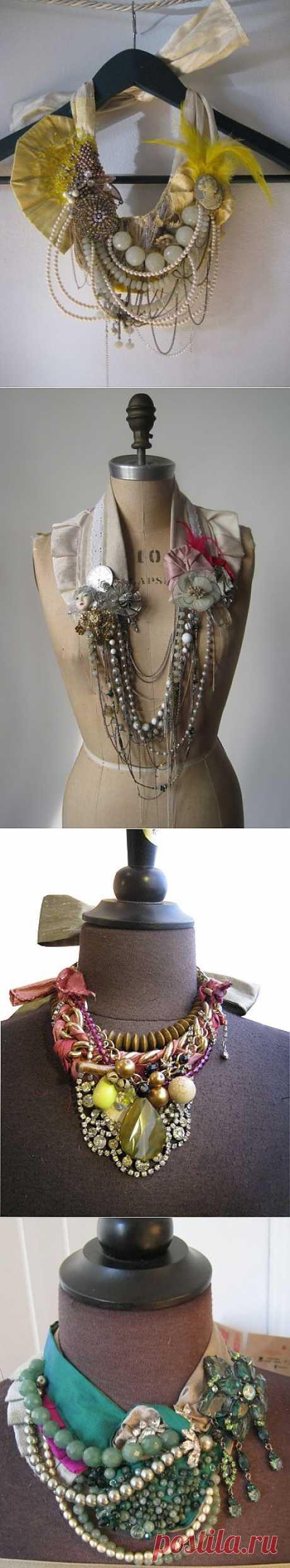 Необычные украшения Charlotte Hosten / Украшения и бижутерия / Модный сайт о стильной переделке одежды и интерьера