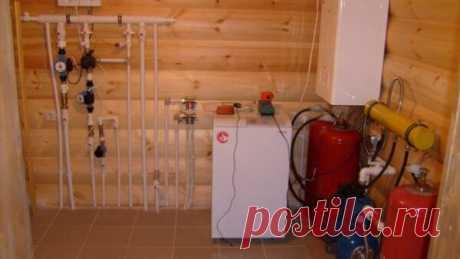 Самое идеальное отопление в деревянном доме, какое оно? | Что нам стоит дом построить | Яндекс Дзен
