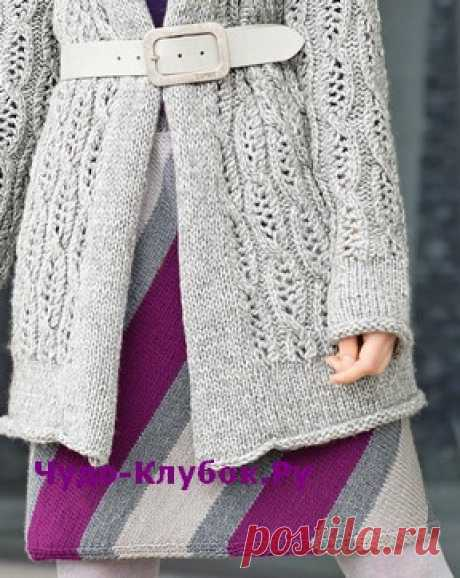 Юбка с чередованием полос вязаная спицами 171 | ✺❁сайт ЧУДО-клубок ❣ ❂✺Городская мода воплотилась в сочетании серого и фуксии. Эта юбка, связанная спицами, привлекает внимание чередованием диагональных полос. РАЗМЕРЫ 38/40 ❂ ►►➤6 000 ✿моделей вязания ❣❣❣ 70 000 узоров►►Заходите❣❣ %