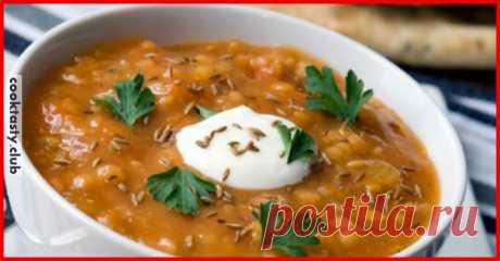 Вкусный и сытный чечевичный суп . Милая Я