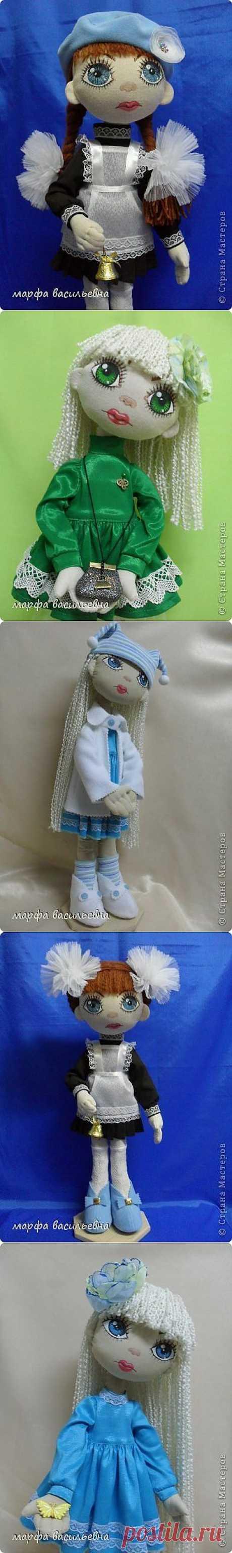 Текстильные куклы от Марфы Васильевны. Мастер-класс.