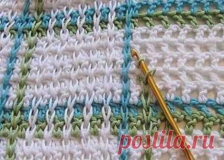 Интересная идея для вязания крючком (Уроки и МК по ВЯЗАНИЮ) | Журнал Вдохновение Рукодельницы
