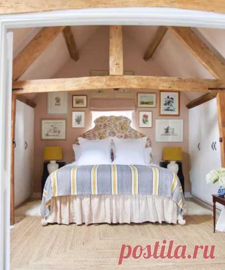 Гостевой дом в поместье дизайнера Сары Ванренен в Уилтшире, Великобритания