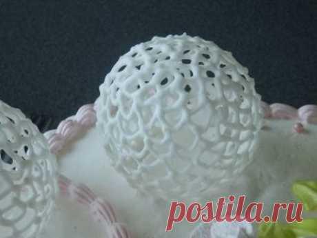 шары из айсинга  Royal Icing Ball.рецепт айсинга