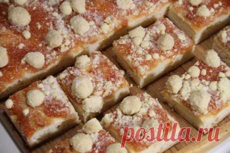 Сладкий пирог с посыпушкой - ривелькухен рецепт с фото и видео - 1000.menu