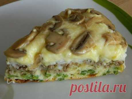 Бесподобный рецепт слоеного пирога-перевертыша — Вкусные рецепты