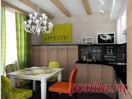 Дизайн-проект двухкомнатной квартиры площадью 62,8 кв.м