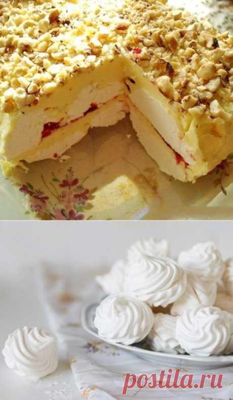 Простой Зефирный Торт (без выпечки) — Sloosh – кулинарные рецепты