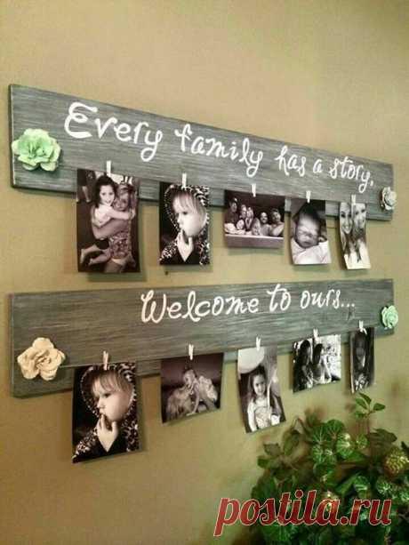 Идеи для создания домашней фотогалереи