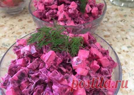 (12) Салат из свёклы и брынзы - пошаговый рецепт с фото. Автор рецепта Любовь . - Cookpad