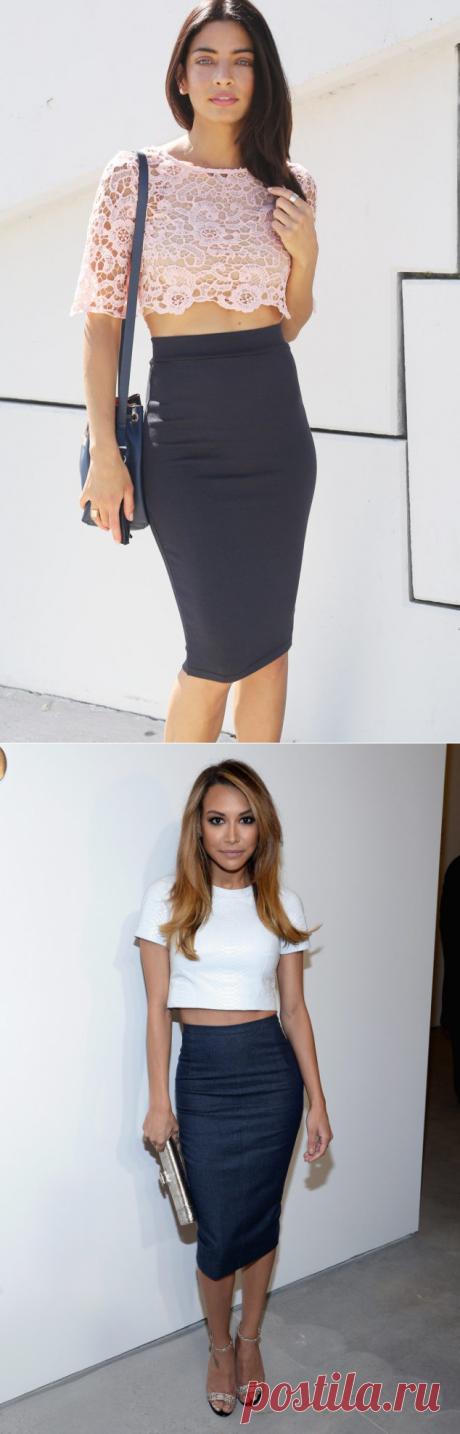 С чем носить юбку-карандаш? Itissite.com