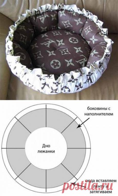 Лежанки для домашних животных - из старых джинсов и не только! Идеи для воплощения!   Юлия Жданова   Яндекс Дзен