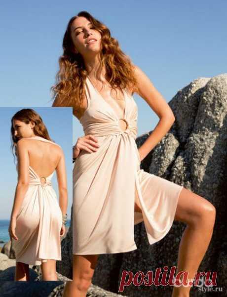Пляжное платье-трансформер 2 | Своими руками