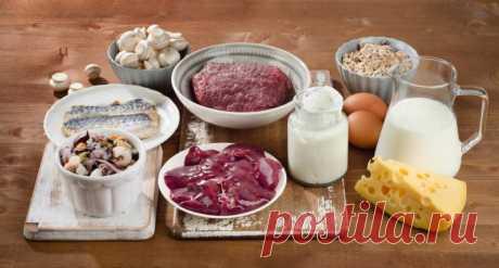7 продуктов, в которых больше всего витамина B12 The-Challenger.ru